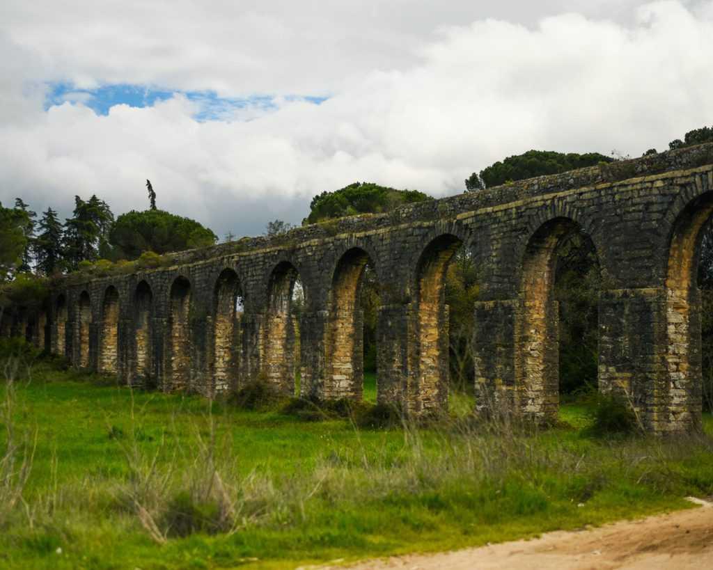 Portugal - Convent of Christ Tomar - Aquaduct