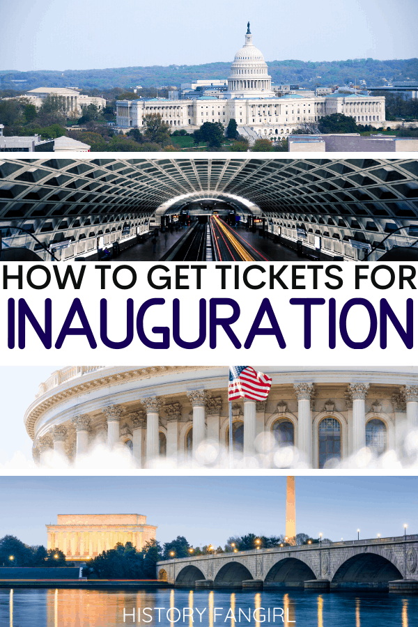 How to go to a Presidential Inauguration and Get Inauguration Tickets