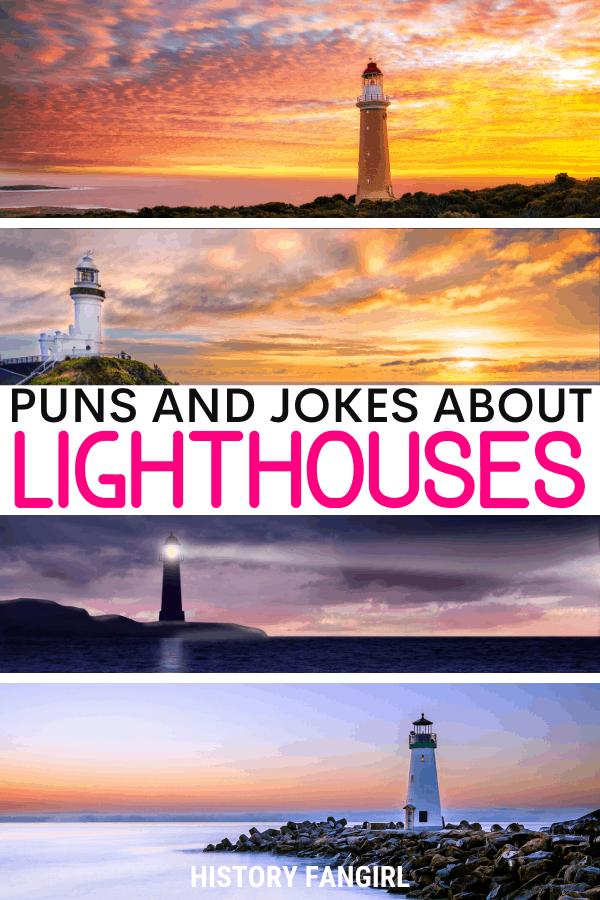 Lighthouse Puns