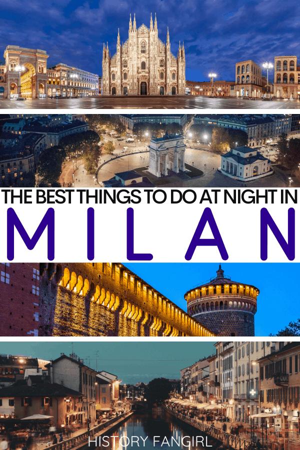 Things to Do in Milan at Night