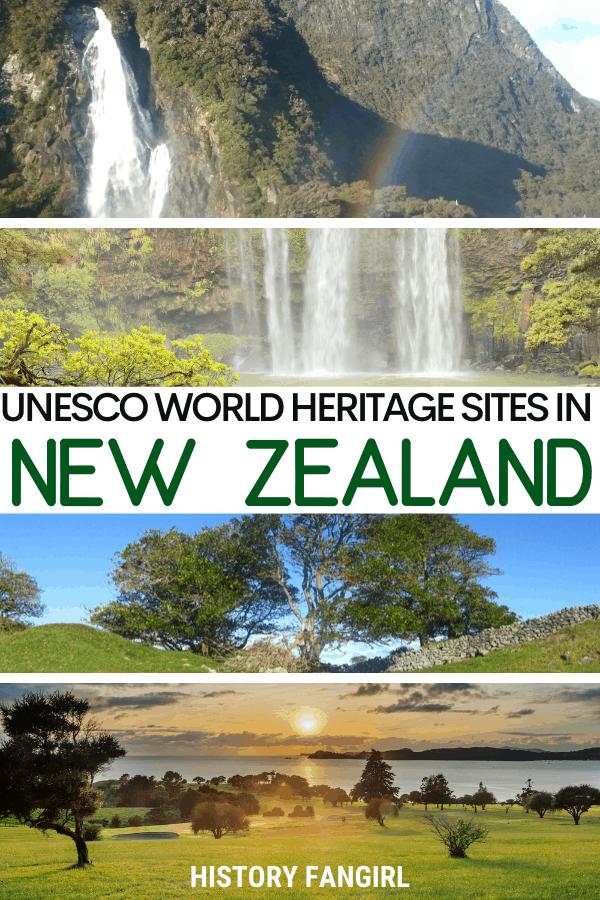 Unesco World Heritage Sites in New Zealand