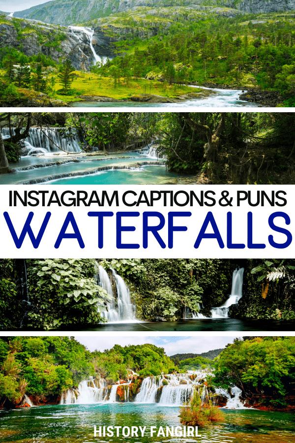 Waterfall Puns