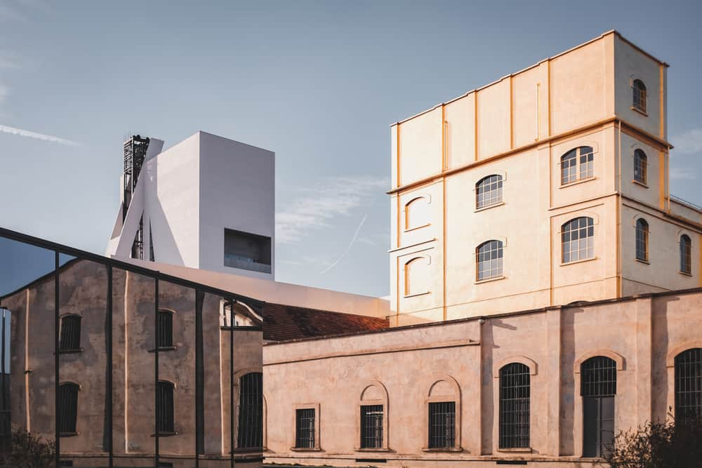 Fondazione Prada, Milan, Italy. Designed by OMA