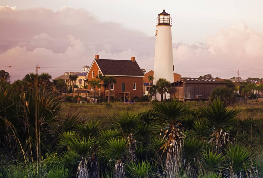 Lighthouse at Cape St. George, Florida