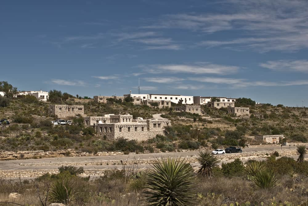 Headquarters and Housing at Carlsbad Caverns National Park in New Mexico