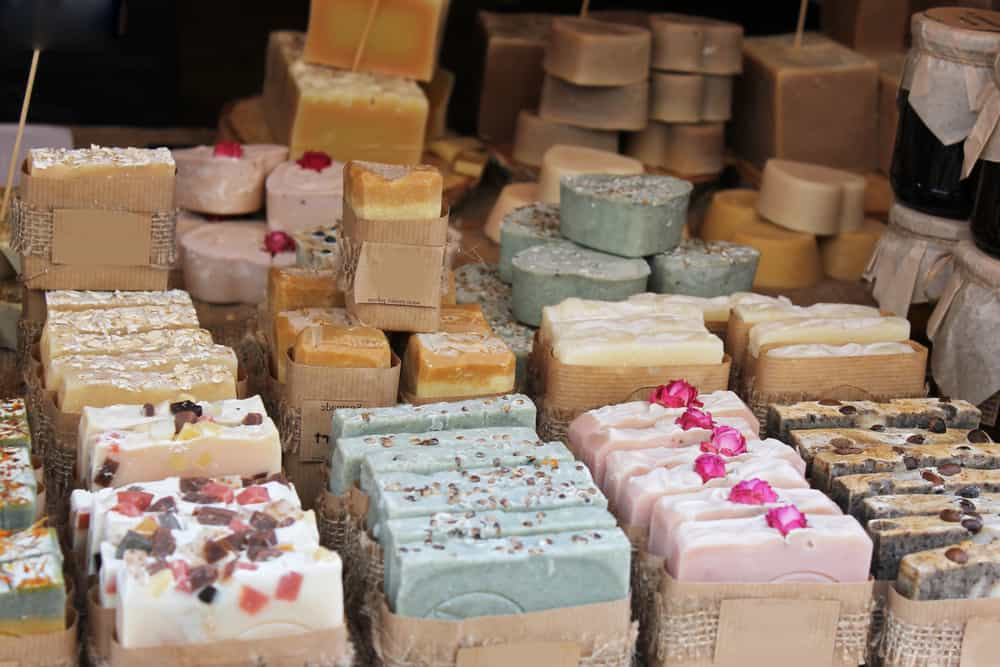 Soaps and cosmetics handmade in Marseilles France
