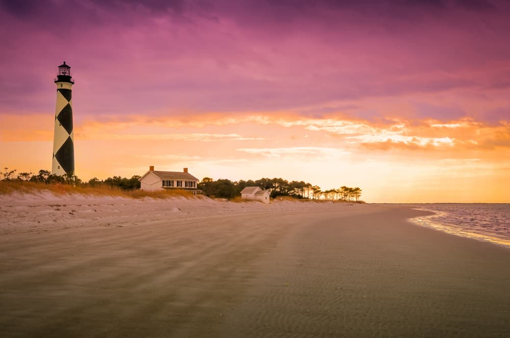 Cape Lookout at Sunset