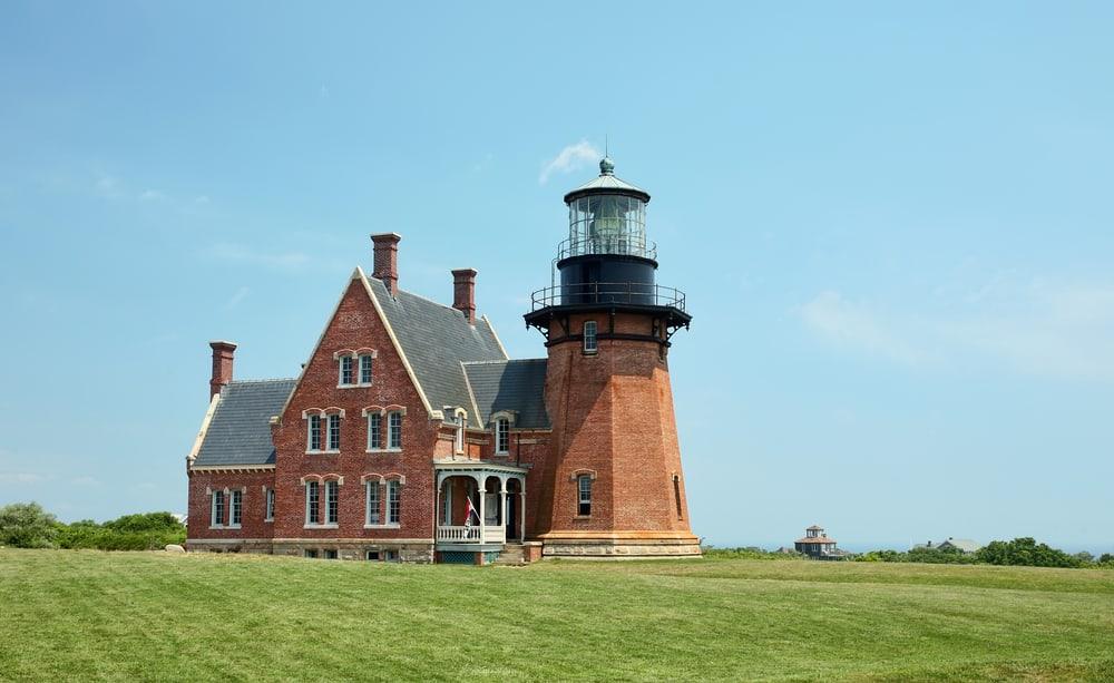 Southeast Lighthouse, Block Island, Rhode Island.