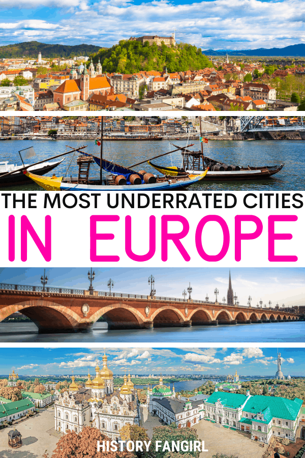 25 Underrated Cities in Europe for a Vacation without Crowds