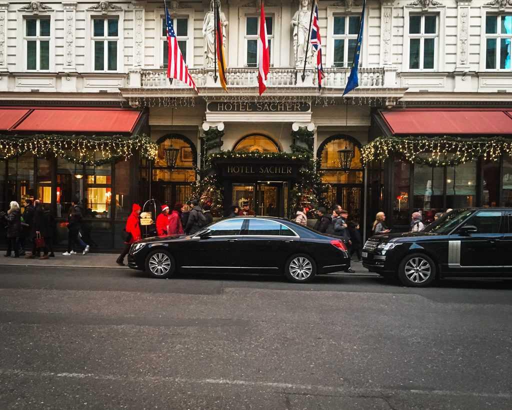 Austria - Vienna - Sacher Hotel