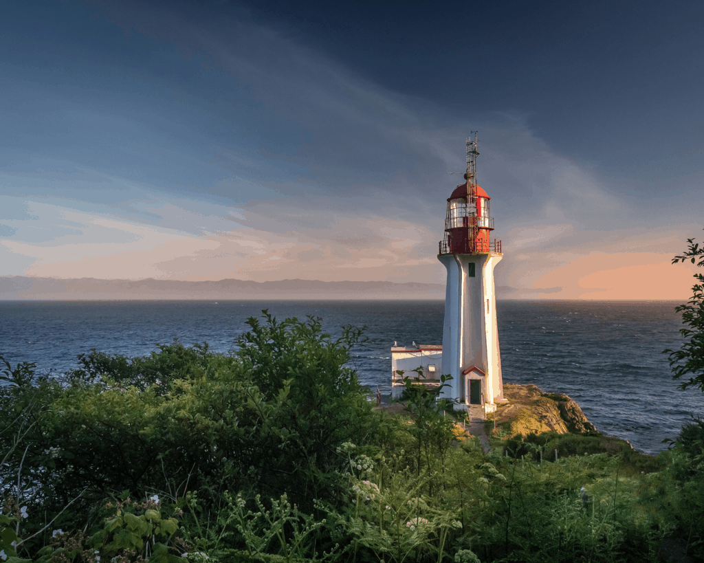 Sheringham Point Lighthouse - Vancouver Island - Canada