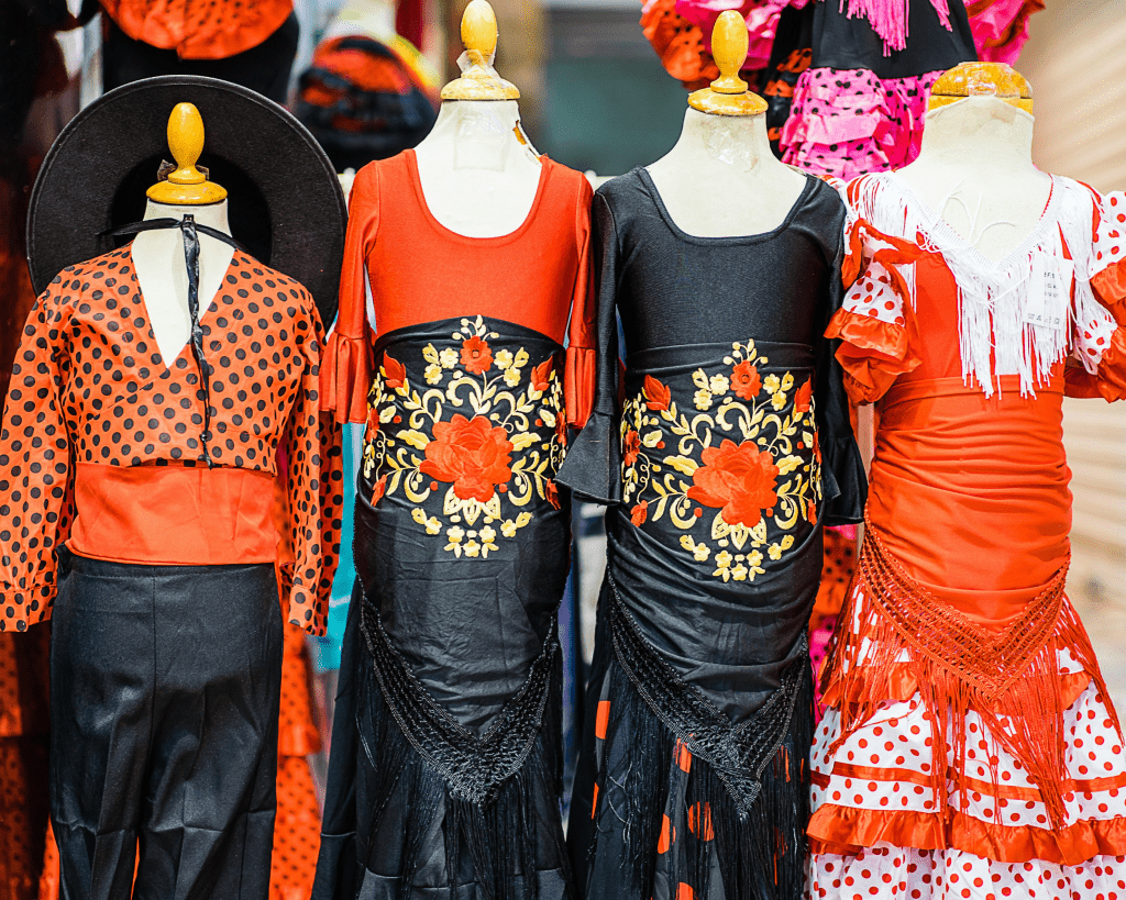 Spain - Spanish Souvenirs - Flamenco Dress