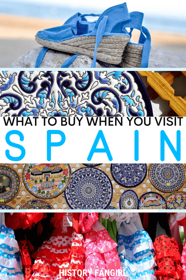 Spectacuar Spain Souvenirs & Gifts You Need to Make Room For!