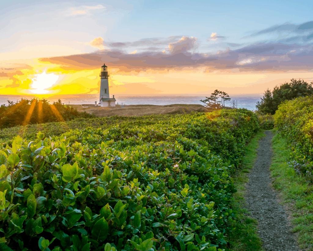 Yaquina Head Lighthouse - Oregon - USA