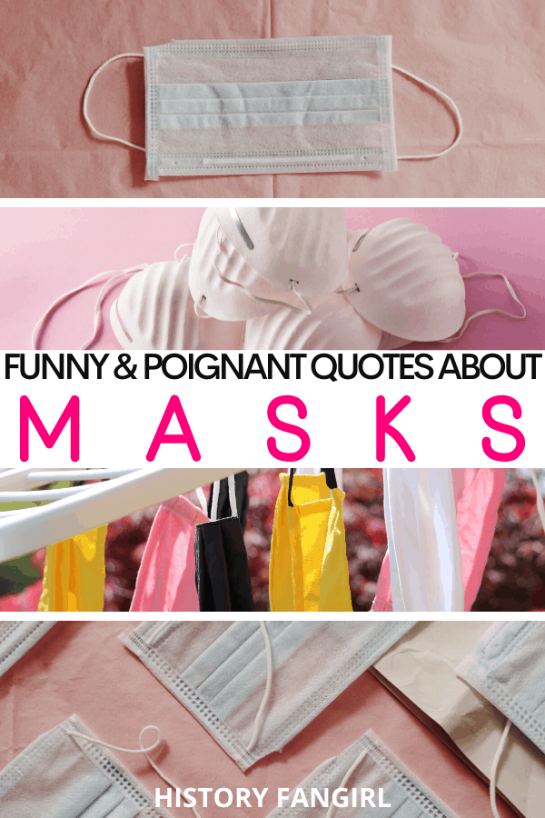 quotes about masks