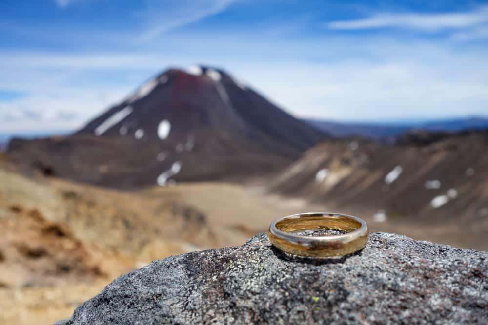 Tongariro New Zealand Hiking Lord of the Rings souvenir