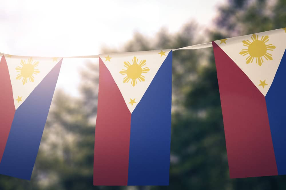 Philippines flag pennants