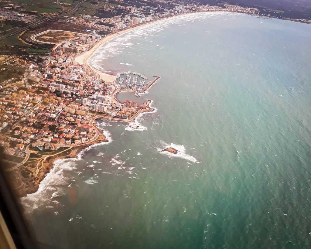 Spain - Mallorca - Flying into Palme de Mallorca