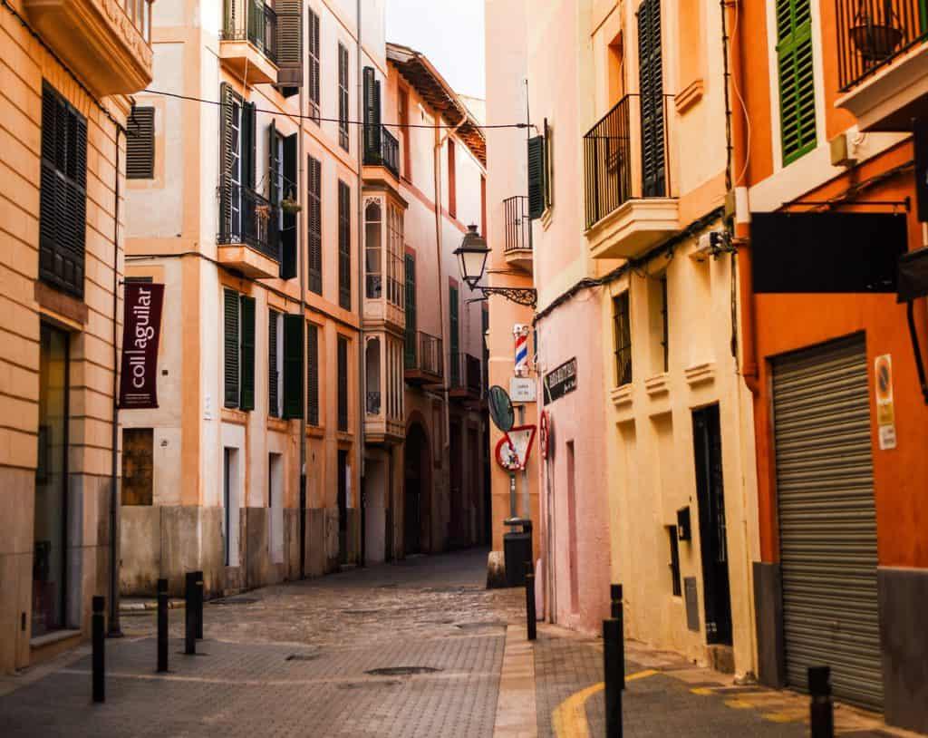 Spain - Mallorca - Old Town Palma de Mallorca