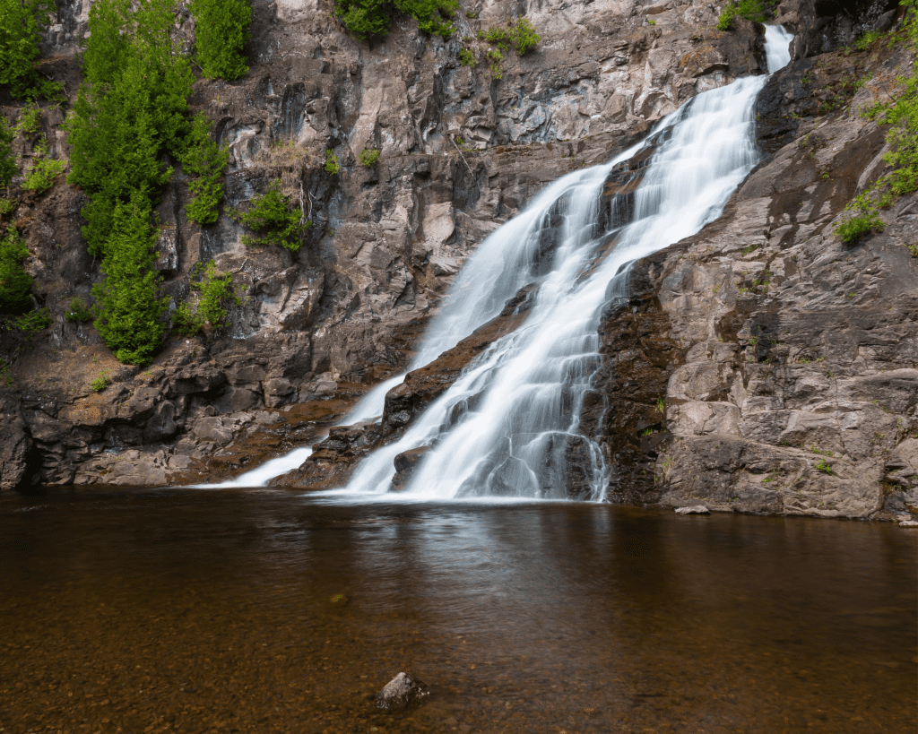 USA - Caribou Falls (Minnesota)