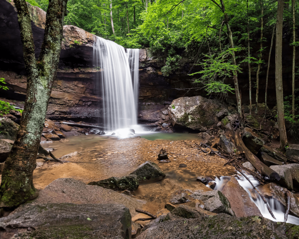 USA - Cucumber Falls (Pennsylvania)