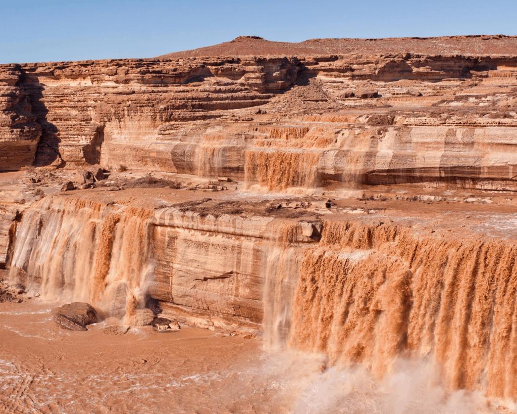 USA - Grand Falls (Arizona)
