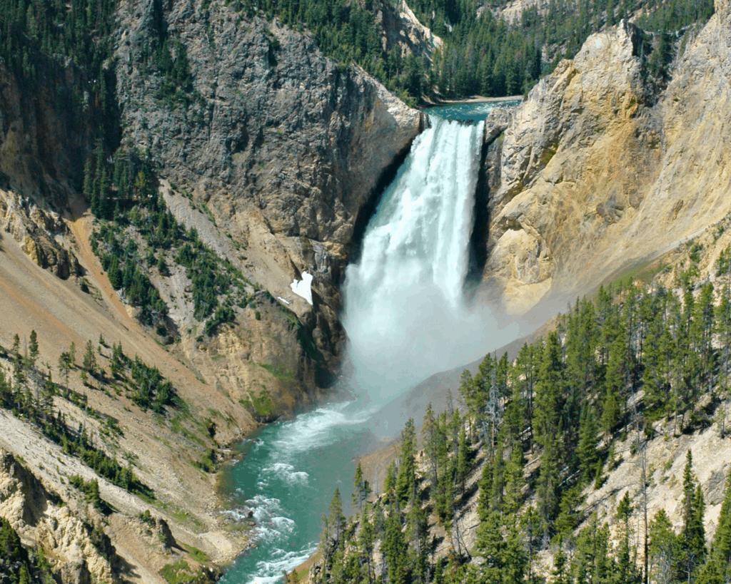 USA - Lower Falls (Wyoming)