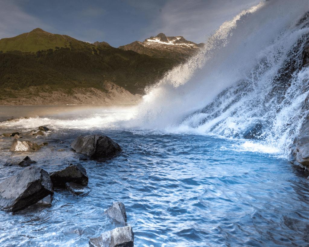 USA - Nugget Falls (Alaska)