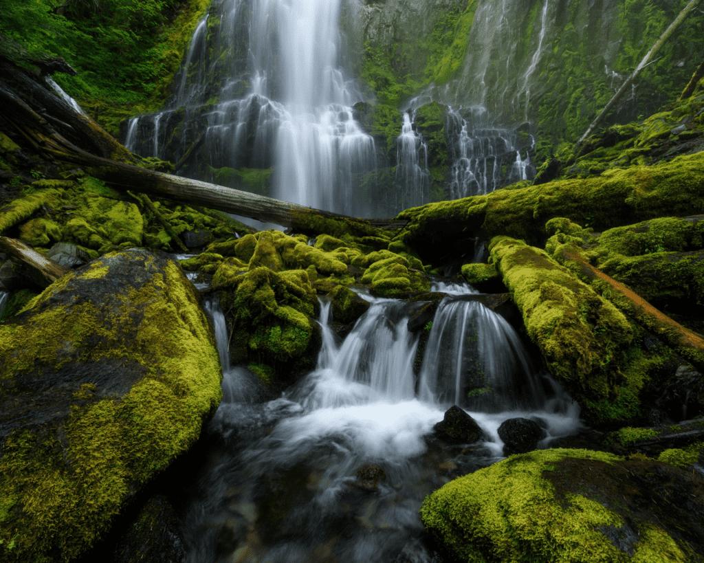 USA - Proxy Falls (Oregon)