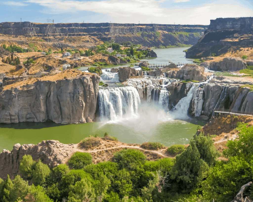 USA - Shoshone Falls (Idaho)