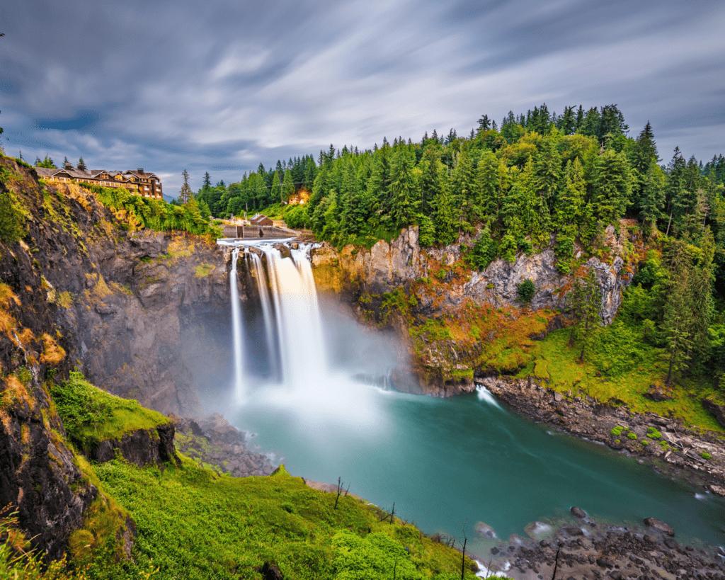 USA - Snoqualmie Falls (Washington)