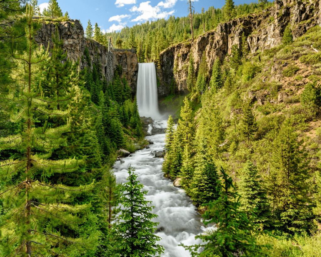 USA - Tumalo Falls (Oregon)