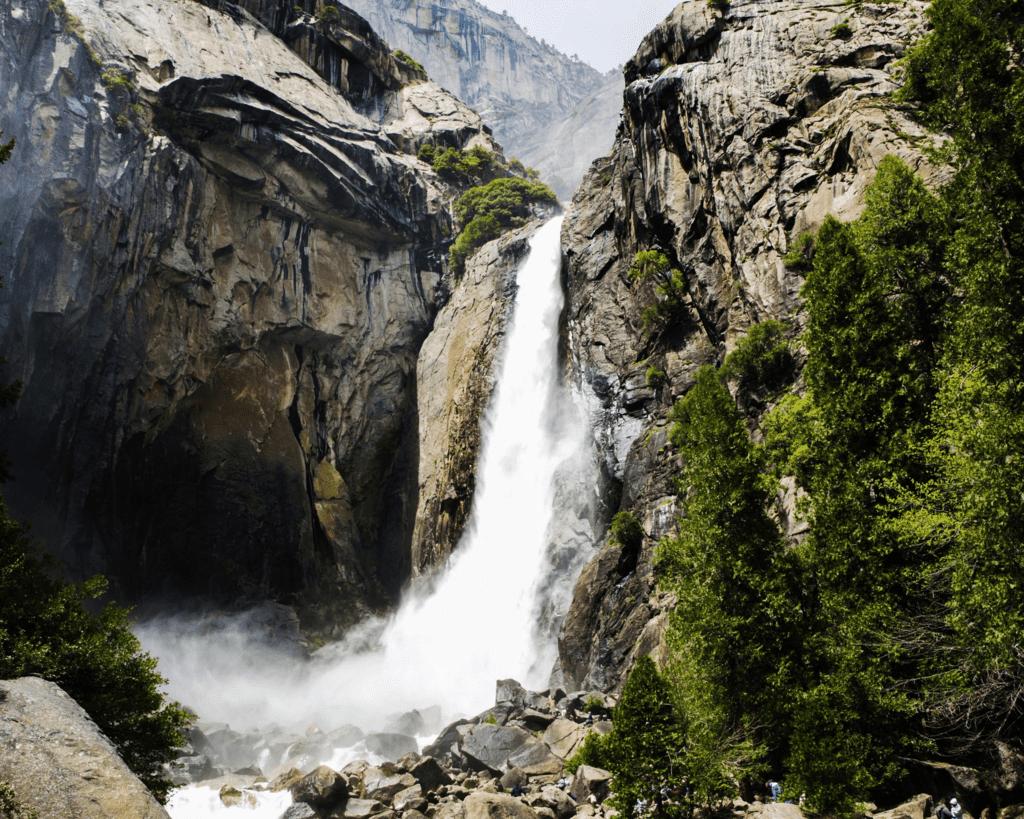 USA - Yosemite Falls (California)