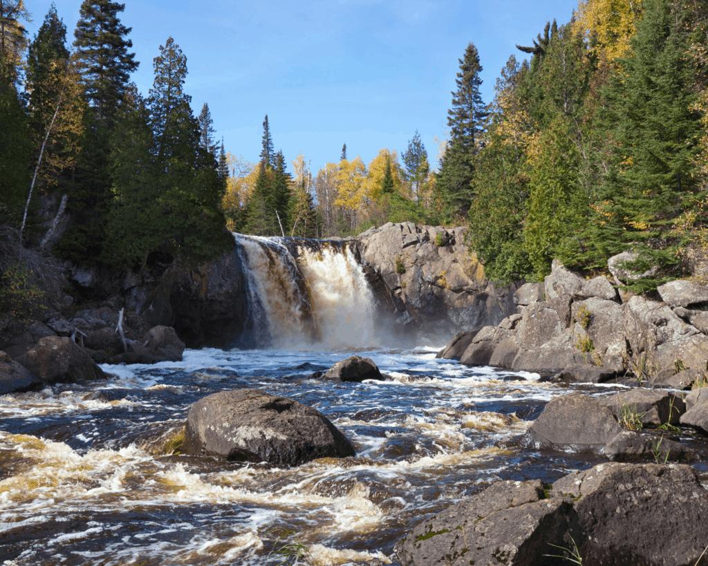 USA - Illgen falls (Minnesota)