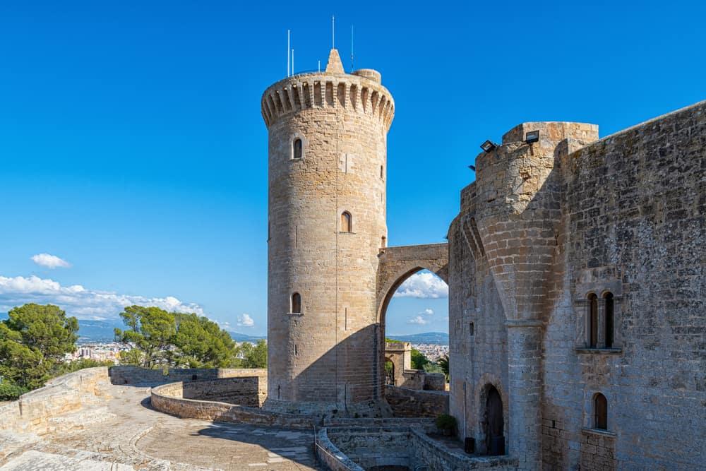 Spain - Mallorca - The castell de Bellver in Palma de Mallorca