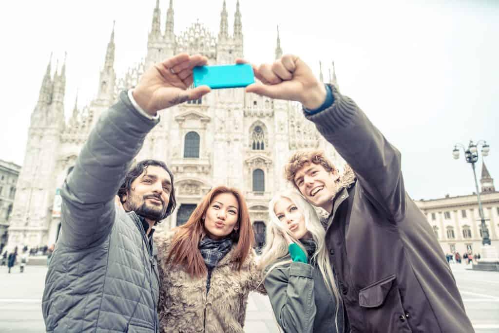 Italy - Milan - Winter Selfies in Milan