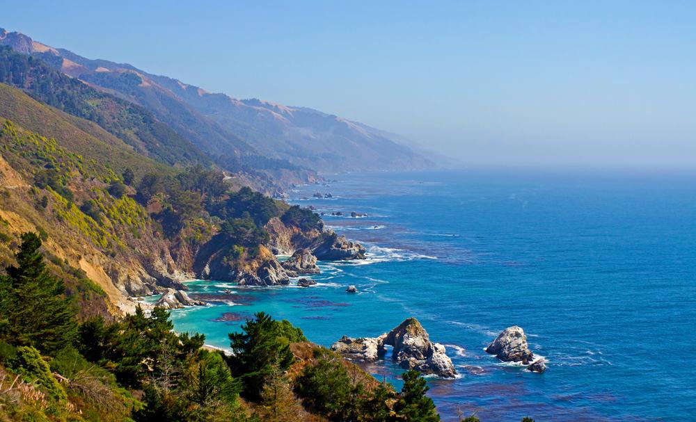 USA - California - Pacific Coast Highway, Big Sur area, California