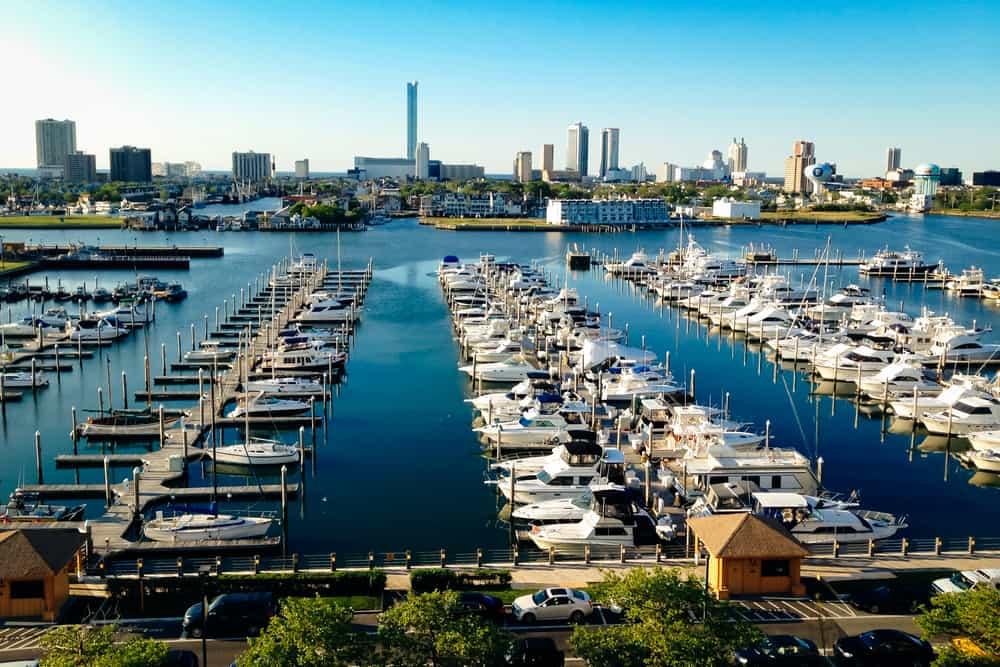 USA - New Jersey - Atlantic City in Winter