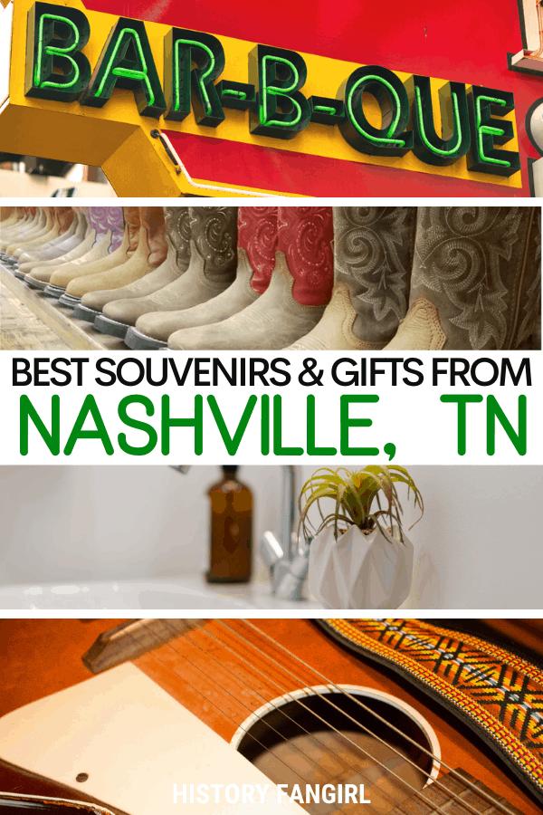 Best Nashville Souvenirs and Nashville Gifts
