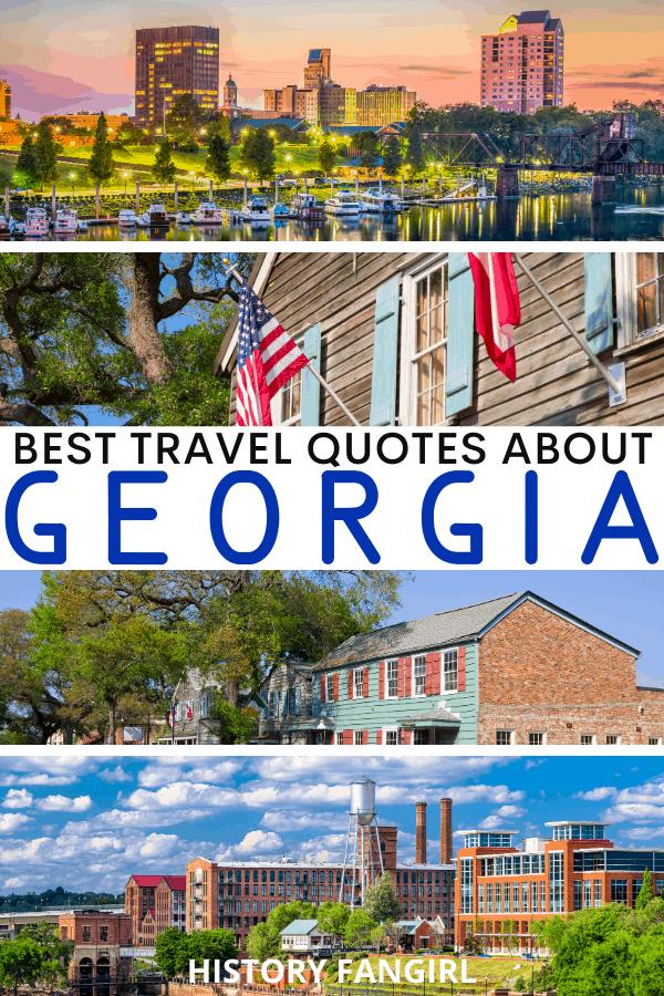 Quotes about Georgia for Georgia Instagram Captions