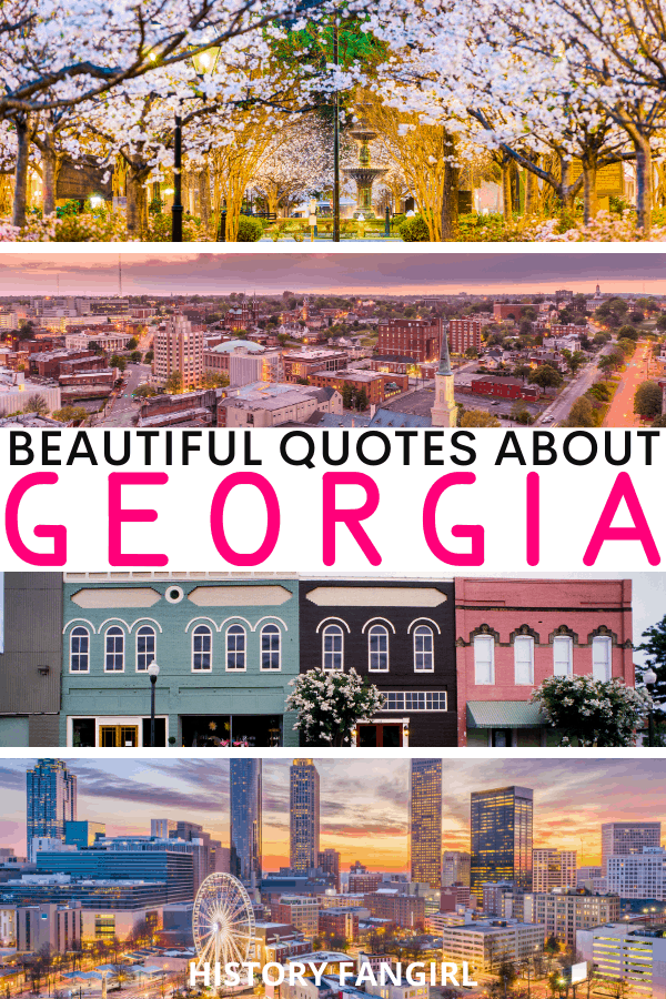 Quotes about Georgia