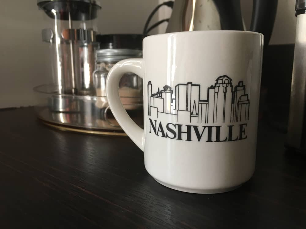 USA - Tennessee - Nashville - Coffee mug in Nashville Tennessee