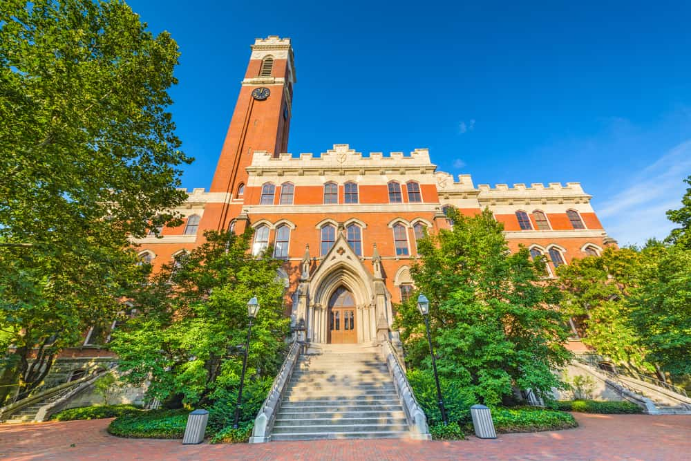 USA - Tennessee - Nashville - Campus of Vanderbilt Unversity in Nashville, Tennessee.