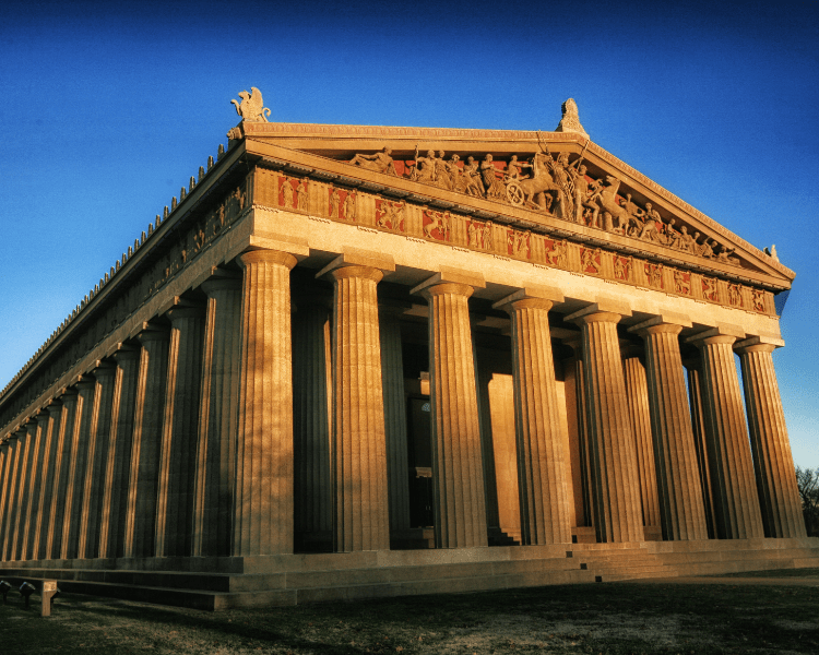 USA - Tennessee - Nashville Parthenon