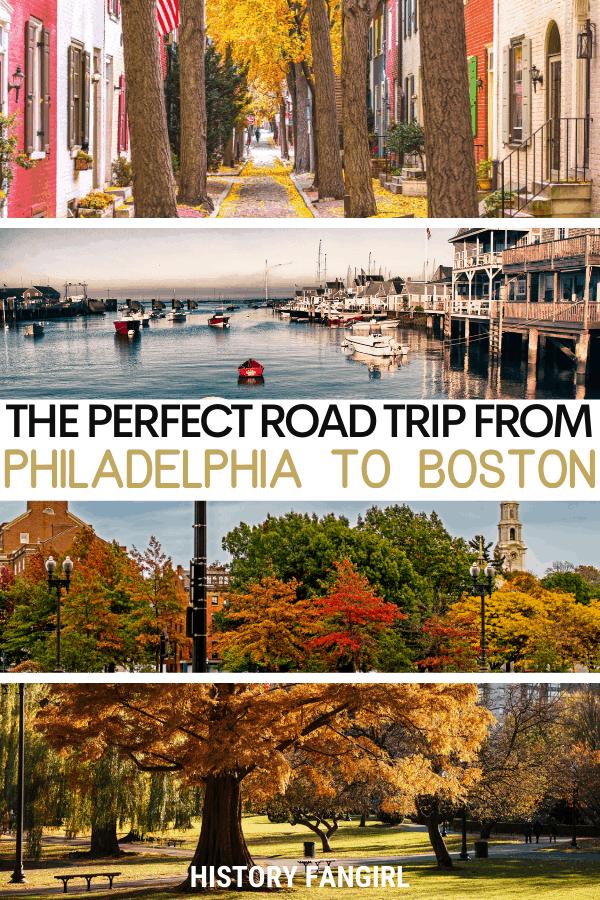 Philadelphia to Boston Road Trip Itinerary