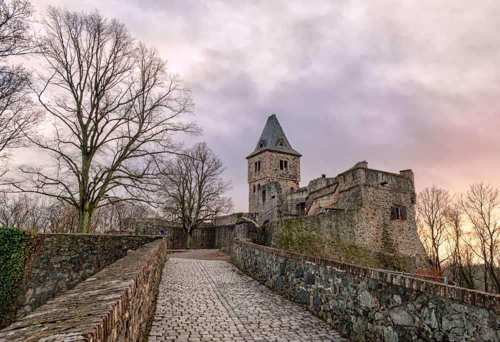 Germany - Frankenstein - Castle Frankenstein, Germany