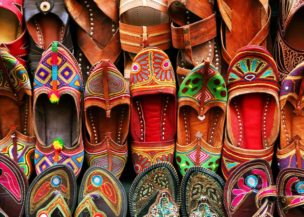 India - Indian traditional slippers