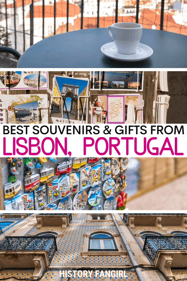 7 Lovely Lisbon Souvenirs & Gifts You Need in Your Suitcase!