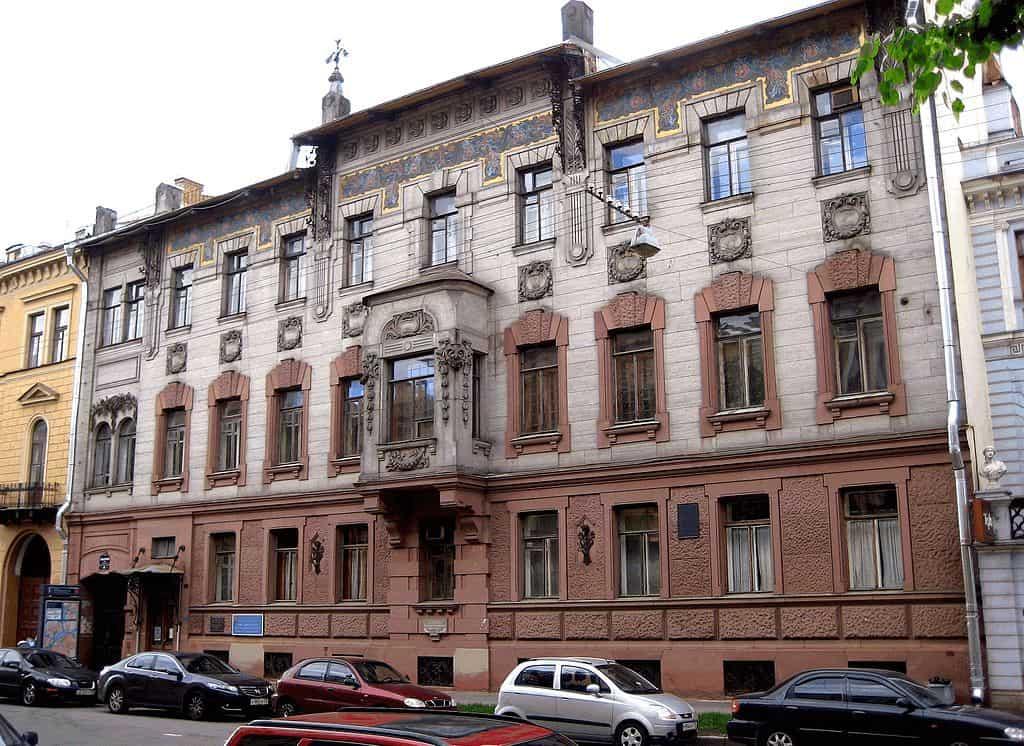 Russia - St. Peterburg - Vladimir Nabokov House
