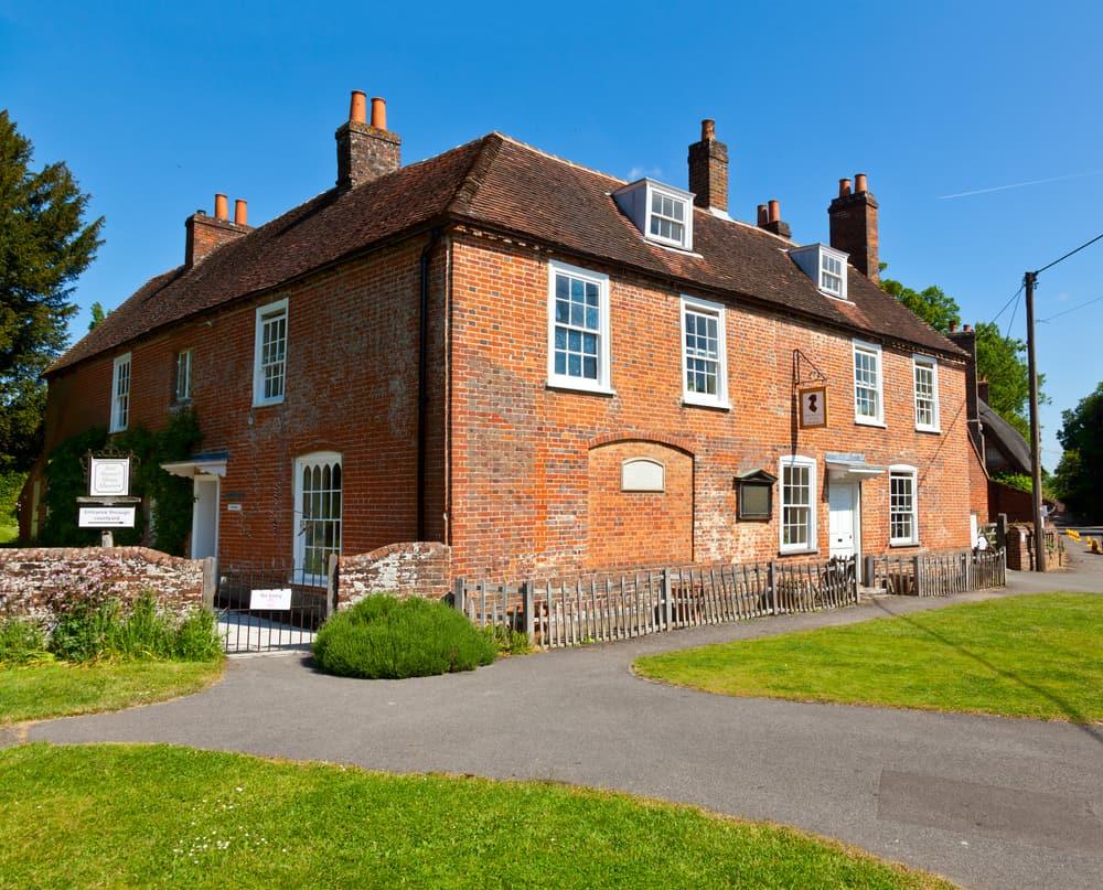 Jane Austen's House Museum in Chawton, England